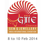 Gem & Jewellery  fair in Chennai from 8th to 10 February 2014